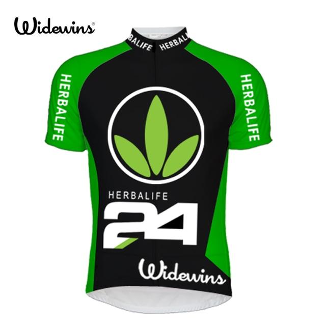 028522dab Summer Short Sleeve Cycling Jersey Herbalife 24 MTB Bike Bicycle Shirt  Outdoor Sportswear Clothing Green 5761