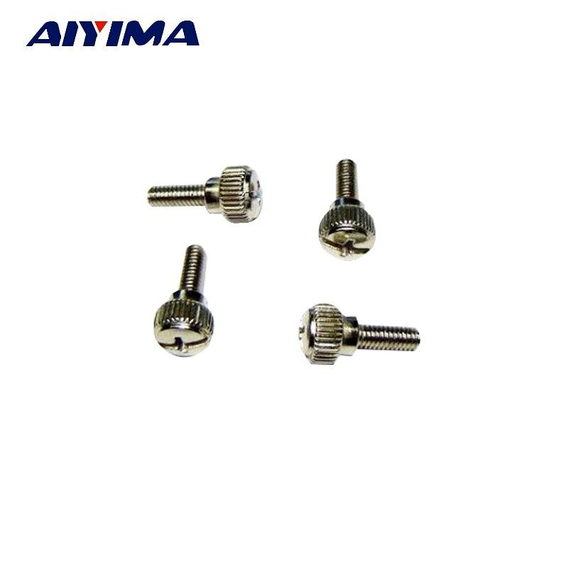 50PCS Thumb Screw M4x10mm M4 DIY Screws Fine Case Sil 50pcs thumb screw m3x8mm m3 for diy computer pc case sil