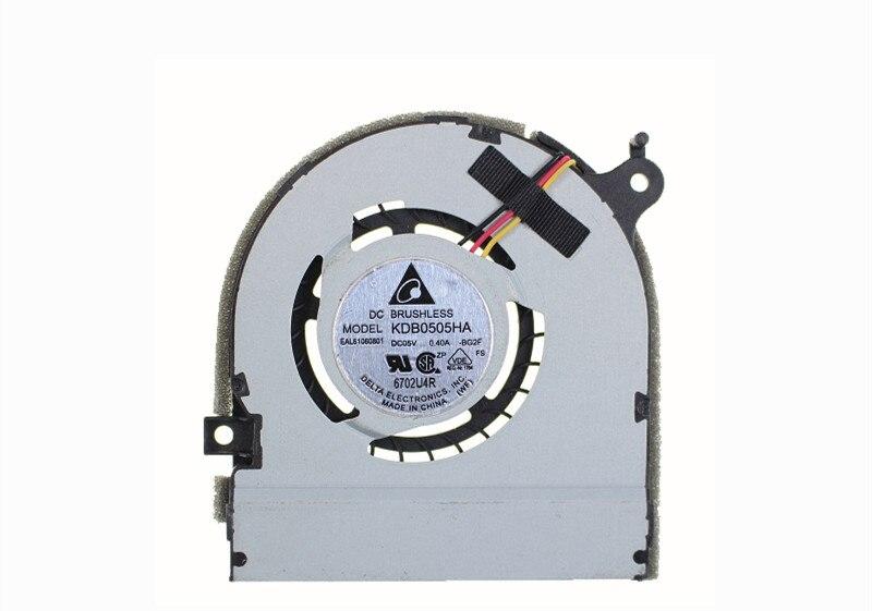 new for KDB0505HA-BG2F EAL61060801 5v 0.40A fan
