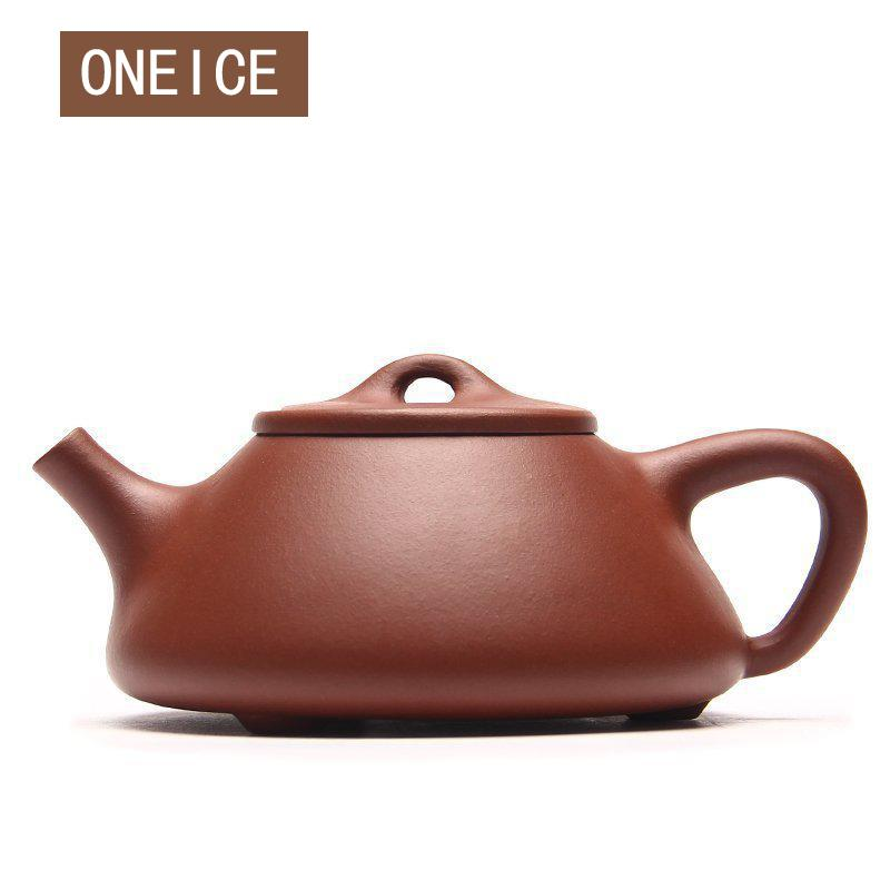 Chinese Yixing Teaware Tea Pot Kungfu Full Hand Made Sub governance Stone Scoop Teapots Qing Cement