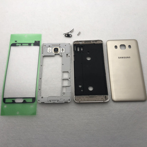 Image 3 - For Samsung Galaxy J5 J510 J7 J710 2016 Full Housing Case Middle Frame+Back Cover J510F J710F Button Volume Button Replacement
