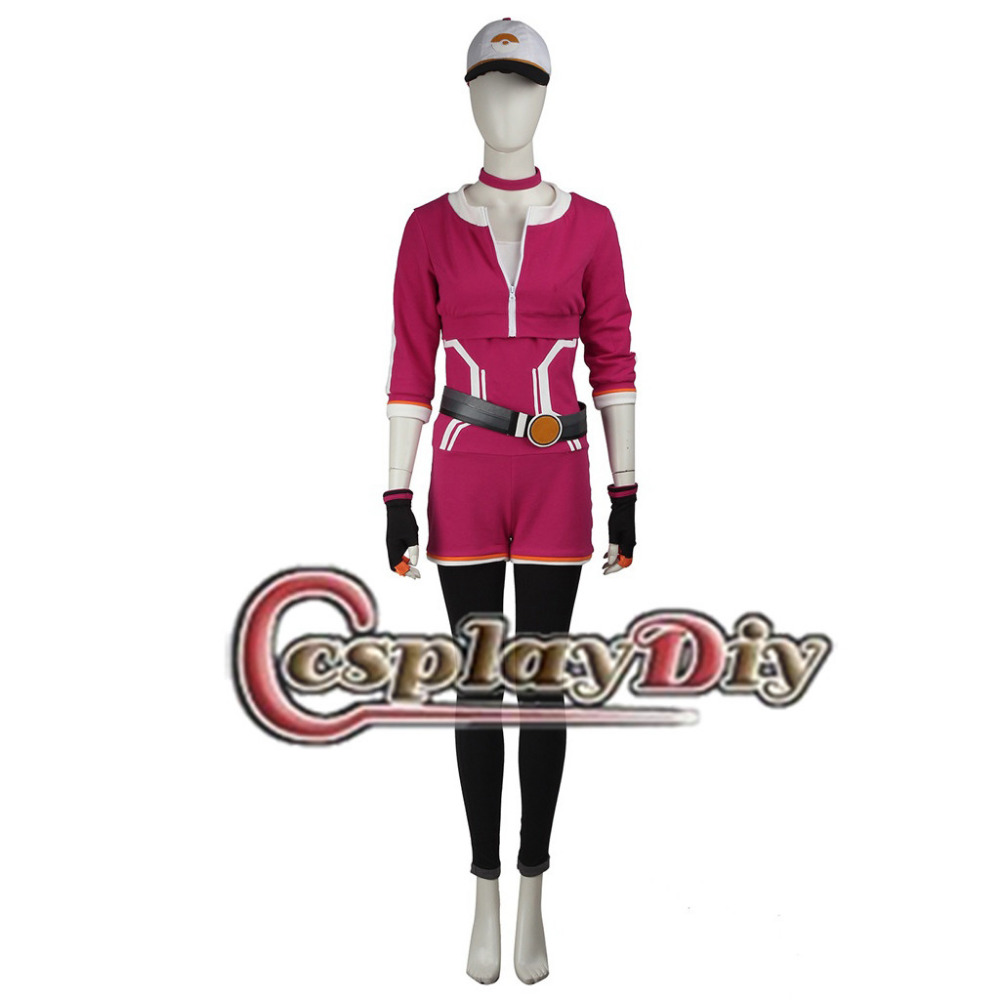 Cosplaydiy Team Costumes Trainer Hoodie Team Valor Instinct Mystic Cosplay Costume Adult Women Halloween Carnival Outfit