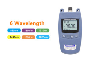 Image 4 - FTTH Optical Power Meter OPM Fiber Optical Cable Tester and Laser Source   70dBm~+10dBm SC/FC Connector Fiber Tester