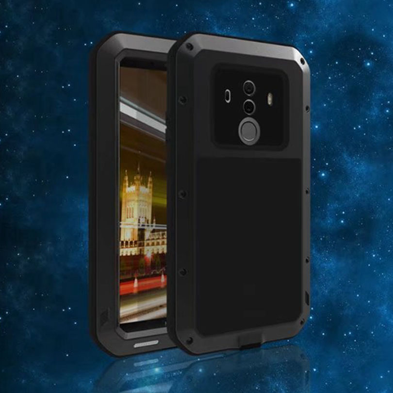 For Huawei Mate 10 Pro / 10Pro LOVEMEI Extreme Powerful Life Metal Aluminum Case Shockproof Robot Armor Cover Heavy Duty ShellFor Huawei Mate 10 Pro / 10Pro LOVEMEI Extreme Powerful Life Metal Aluminum Case Shockproof Robot Armor Cover Heavy Duty Shell