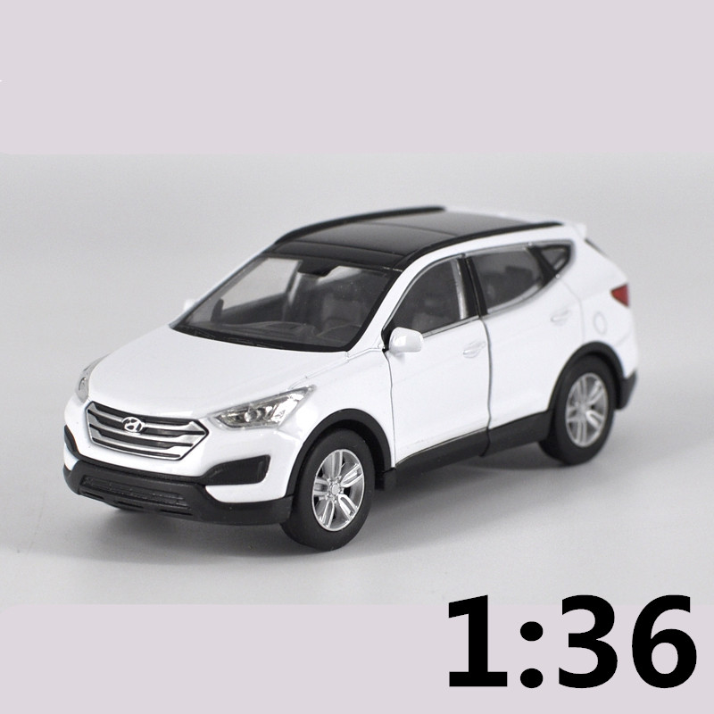 Diecast Car Scale 1:36 Crossover SUV Nissan X-Trail Orange Russian Model Toy Car