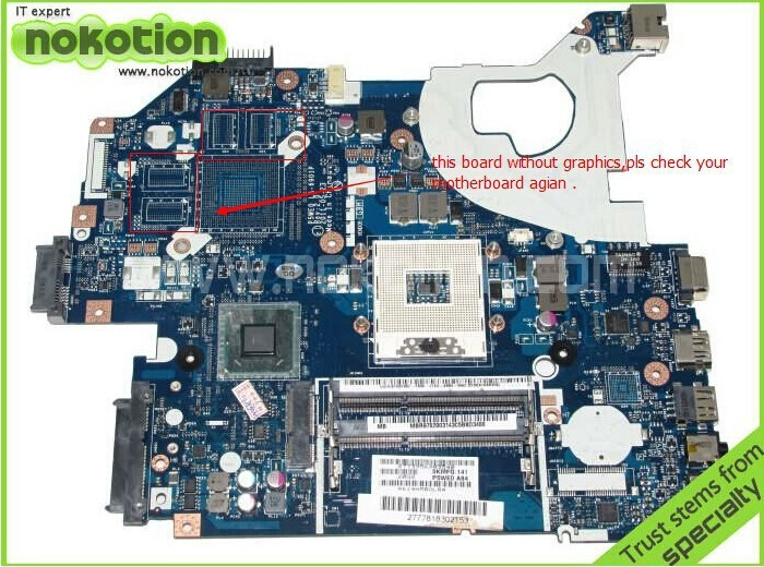 P5WE0 LA-6901P Laptop Motherboard For Acer 5750 5750G Series MBR9702003 MB.R9702.003 Mainboard