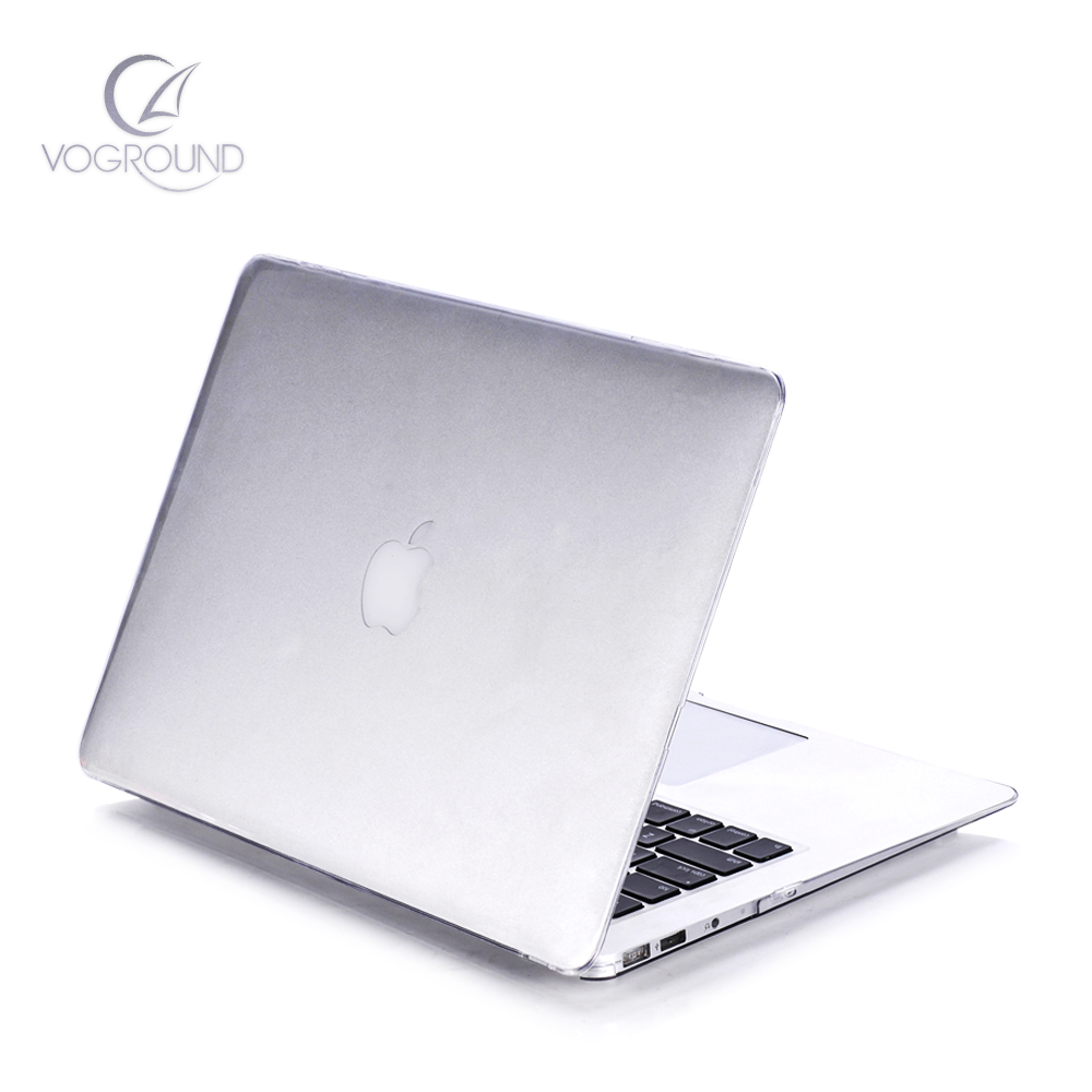 Voground Fashion Transparent Crystal Case For Apple Macbook Air Pro Md101 Silver Notebook Retina 11 12 13 15 Laptop Cover Bag Mac Book 133 Inch