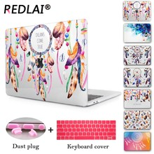 Dream catcher & Brain 3D Print Hard Cover Case For Macbook Air 13 inch Pro 13 15 with/non Touch bar A1706 A1707 A1708