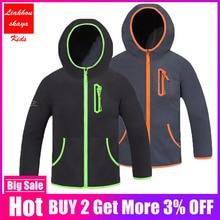 Sweatshirts Hoodies Outerwear Kids Coats Spring Fleece Boys Children's Fashion Sport