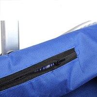 2 Pcs Of VSEN Hot Waterproof Foldable Eco Friendly Reusable Shopping Bag Grocery Basket Blue