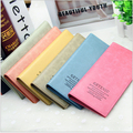 Best Selling 6 Color Hot Sales Long Fashion Wallet Simple Design Girl Candy Color Money Clips Women Card Mini  Bag H137