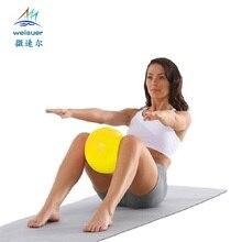ФОТО mini yoga ball physical fitness ball for fitness appliance exercise balance ball home trainer balance pods gym yoga pilates 25cm