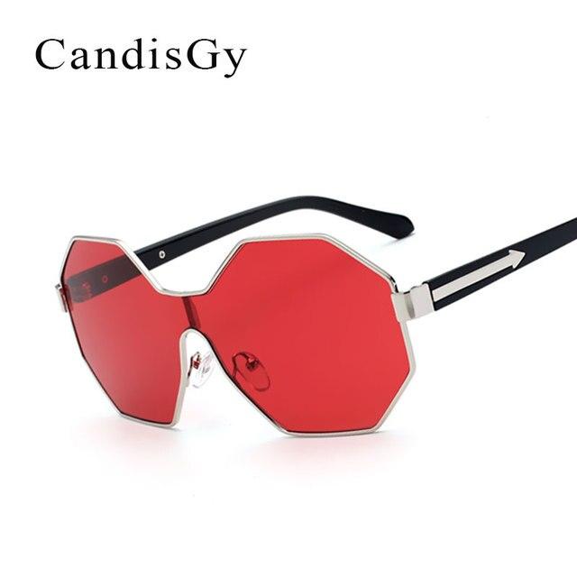 ffd036e15d17c Legal óculos de sol das mulheres designer de marca new elegante x-men robô  personalidade