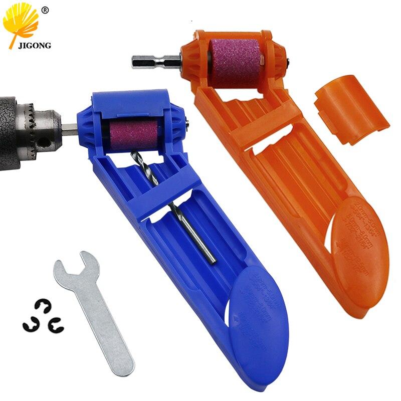 Portable Drill Bit Sharpener Corundum Grinding Wheel For Grinder Tools For Drill Sharpener Power Tool