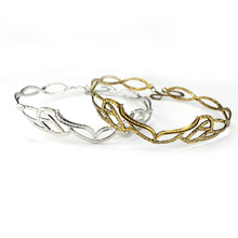 HANCHANG Women Jewelry!Vintage ELROND CROWN The Elf Elven Wreath Gold Sliver Tolkien LOTR Hair Accessories For Cosplay Costume