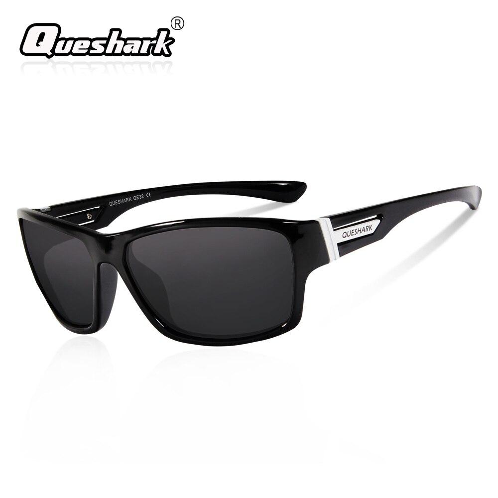 0a98c1bcaf QUESHARK Green Lens Polarized Cycling Sunglasses TR90 Frame Hiking Fishing  Glasses Mountain Road Bike Goggles Riding Eyewear