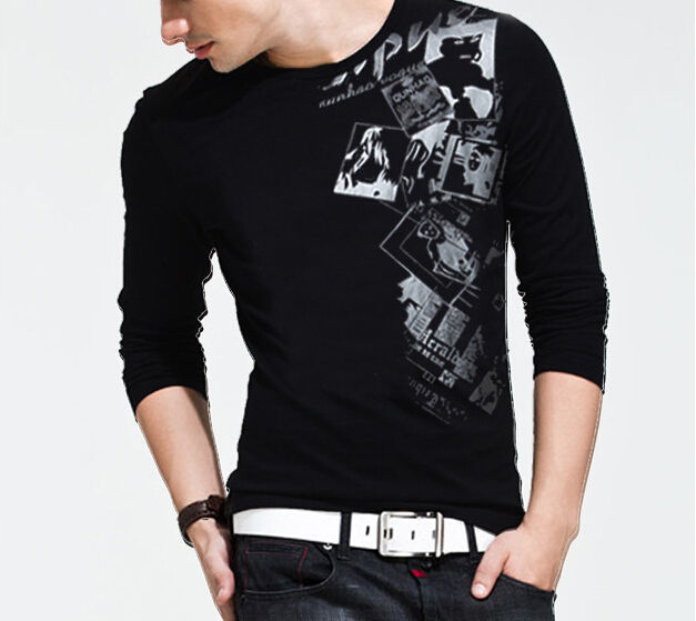 Stylish Black T Shirt