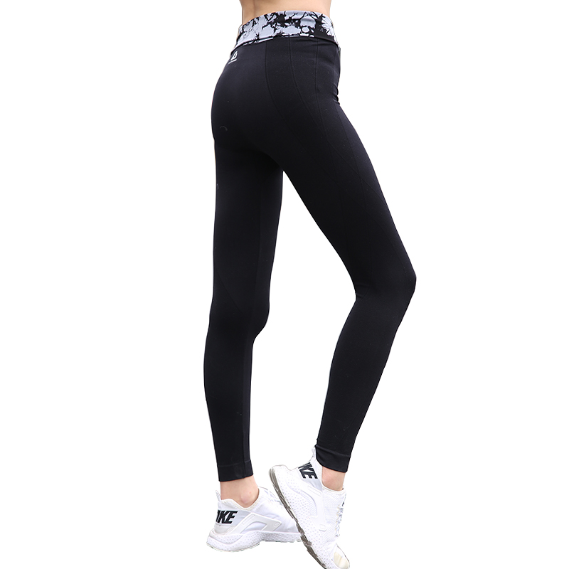 BESGO Athleisure High Waistband Sport Pants Women Tight Ankle Length Profession Yoga Leggings Pants Quick Dry Exercise Trousers