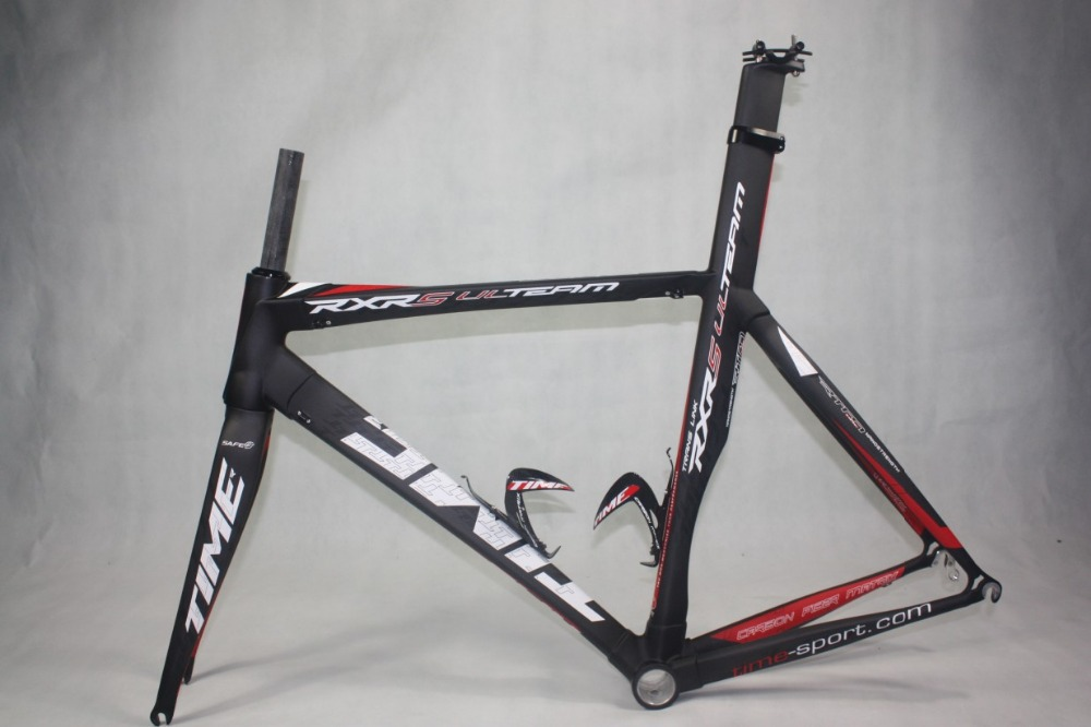 free shiping time rxrs road bike frame time rxrs full carbon road frames fork