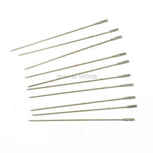 10Pcs 1mm Diamond Coated Lapidary Drill Hole Needle Solid Bits 6#  for Jewelry Agate Gems