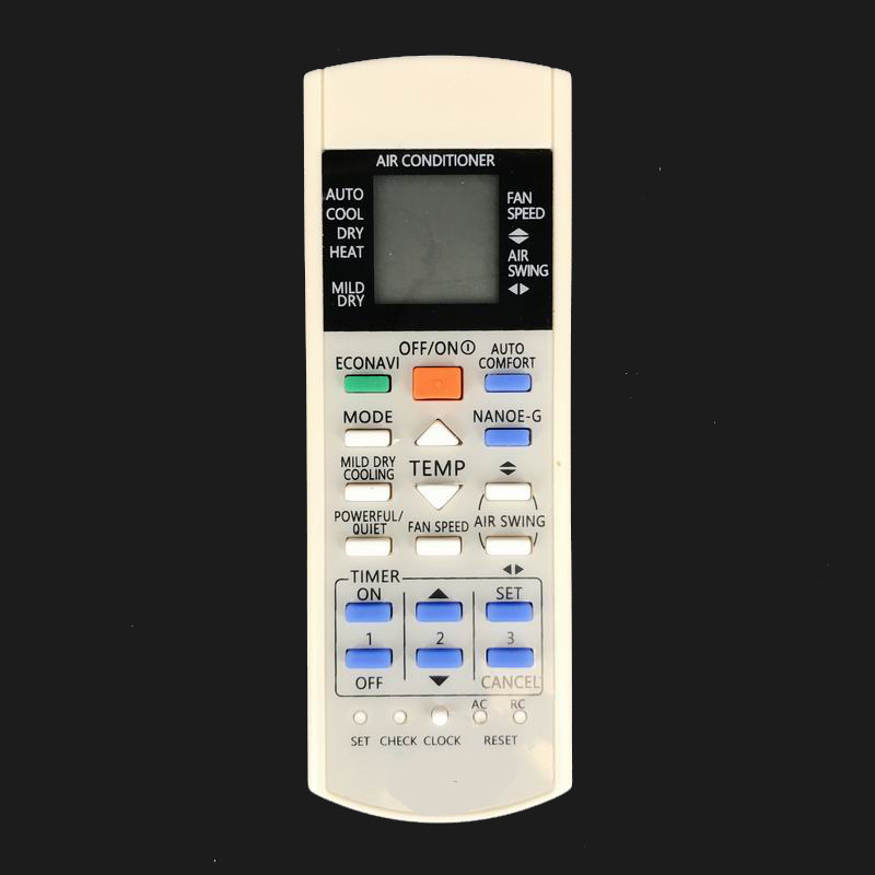 New Remote Control A75C2817 A75C2998 For Panasonic Inverter AC Air  Conditioner A75C3865 A75C3871 A75C3714 A75C3706 CS-YW7MKD-1