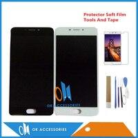 Meizu m5 용 5.5 인치 m621h m621q m621m lcd 디스플레이 + 터치 스크린 디지타이저 어셈블리 검정색 흰색 키트 포함|touch screen digitizer|display lcd touch screenlcd display touch screen -