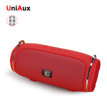 купить FM Radio Bluetooth Speaker USB TF Card Play Bluetooth TWS Speaker with Strap Portable Computer Speaker Wireless в интернет-магазине