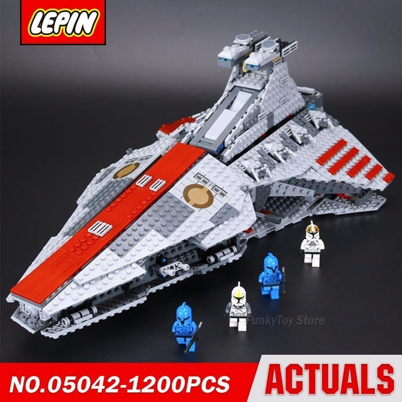 Lepin 05042 Republic Fighting Cruiser 8039 Star Series Wars Model Building Block Brick Kits Assembling Compatible Toys Gift new lepin 22001 pirate ship imperial warships model building kits block briks toys gift 1717pcs