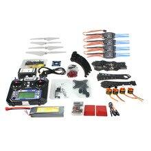 F14893-O Conjunto Completo BRICOLAJE RC Drone Quadrocopter X4M380L Marco Cardán Kit QQ Súper TX