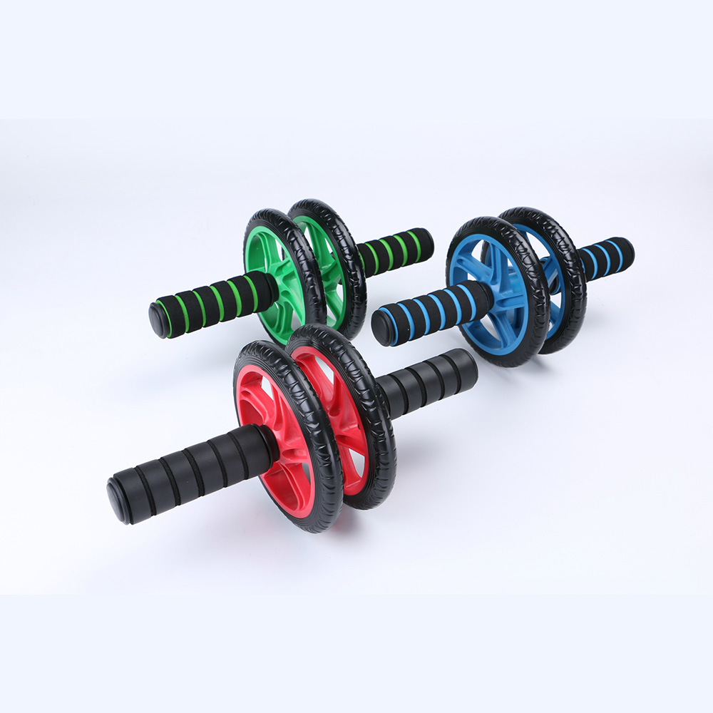 Abdominal Exercise Rollers No Noise Abdominal Wheel Ab Wheels With Mat For Exercise Fitness Equipment