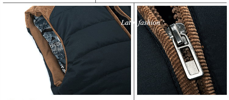 Free Shipping Mens Fishing Sleeveless Jacket Denim Outdoor Casual Casual Multi-pocket r Clothing Waistcoat Brand Winter Men VestE11662-15