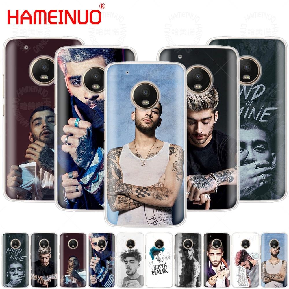 HAMEINUO Zayn Malik case phone cover For Motorola Moto X4 E4 C G6 G5 G5S G4 Z2 Z3 PLAY P ...