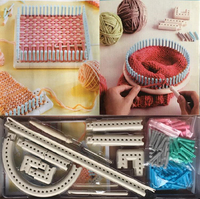New Weaving Loom Multifunctional Knitting Machine 5000 100 Knitting Board DIY Tool sewing accessories