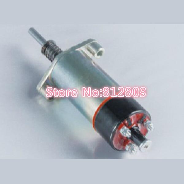 Excavator shutdown solenoid valve 155-4653 24V 155 4653 fuel shutdown solenoid valve for c engine 24v