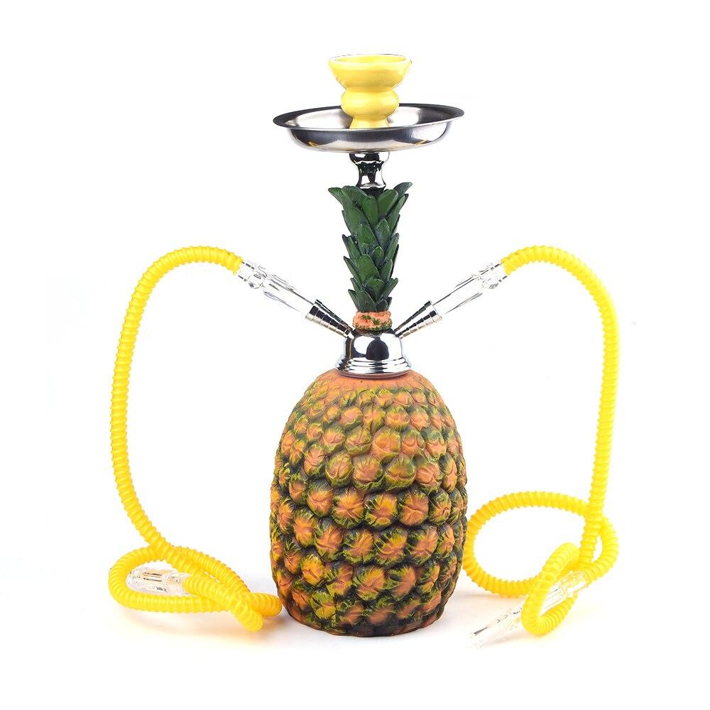 Chicha en forme d'ananas GERUI avec tuyau de narguilé avec accessoires de tuyau de tabagisme de Tube