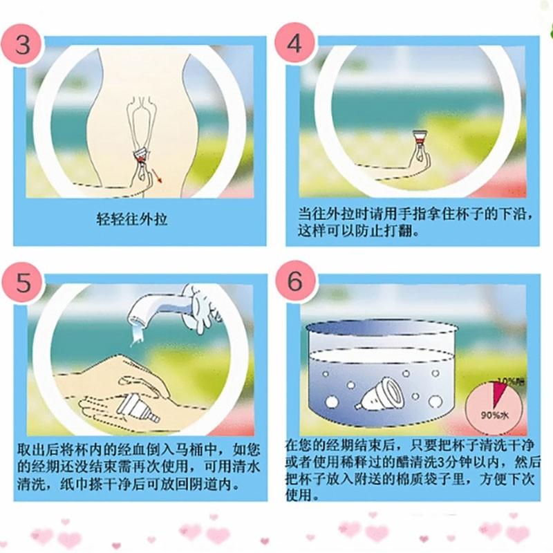 2Pcs Copa menstrual lady cup medical grade silicone menstrual cup feminine hygiene product menstruation soft diva cup 12