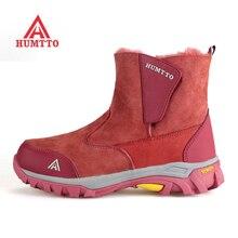 Famous Brand Women's Winter Outdoor Hiking Trekking Boots Shoes For Women Sport Warm Climbing Mountain Snow Boots Shoes Woman