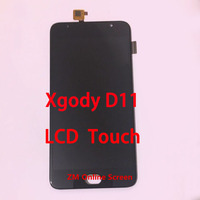 Original LCD Display Screen+ Touch Screen Assembly Replacement For XGODY D11 5.5 inch Lens