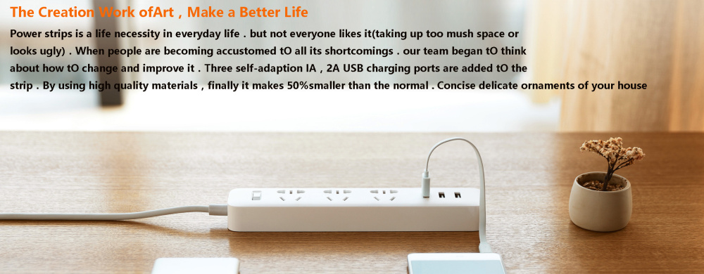 XiaoMi 3 USB Port Fast Charging 2.1A USB Smart Power Socket Power strip charger Portable Strip Plug Adapter For Phone H25 # (11)