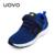 Uovo niños de primavera y otoño transpirable sport shoes suede moda textil kids shoes ligero boys and girls shoes