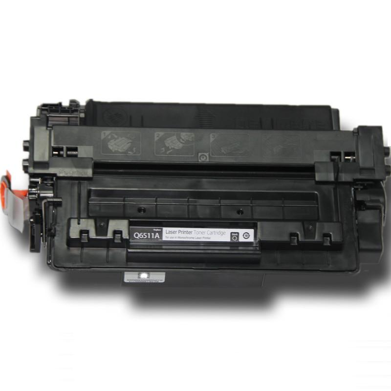 1PK Free shipping For 6511A Q6511A 6511a 6511 11a compatible toner cartridge for HP printer 2400 2410 2420 2430 with chip black q7551a toner cartridge compatible q7551a cartridge toner for hp free shipping