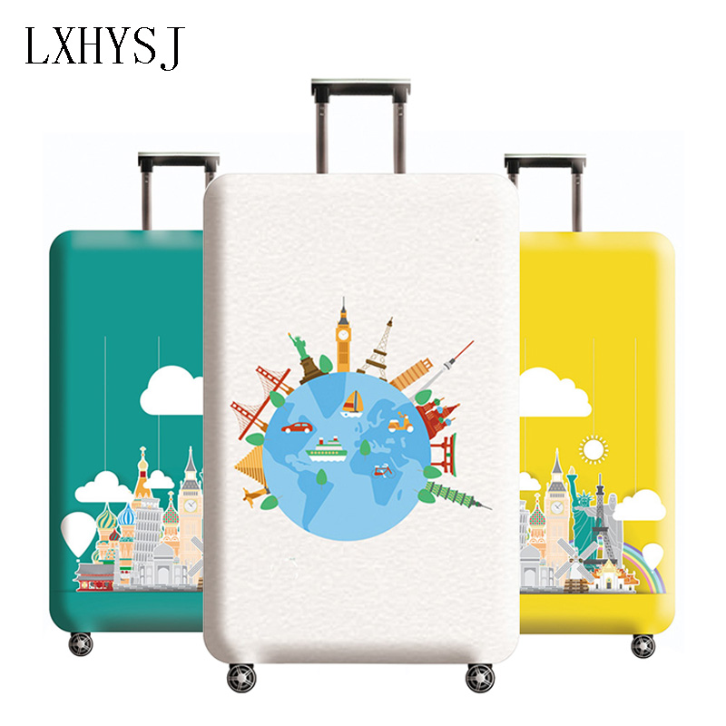 Thicken Luggage Cover Elasticity Luggage Protective Covers For 18-32 Inch Suitcase Case Baggage Cover Travel Accessories