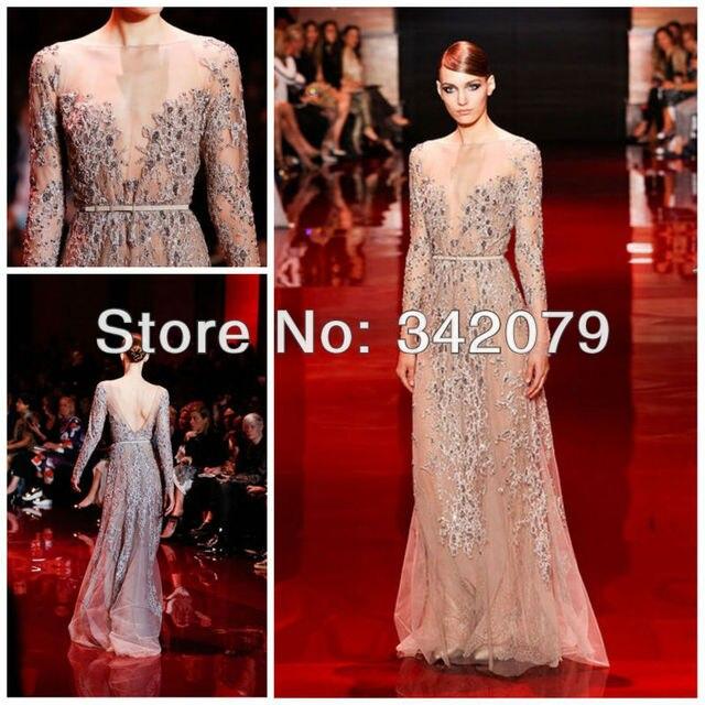 Ph03410 plata bordado de encaje de guipur vestido con blusa ...