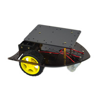 Free shipping! Smart Robot Car Chassis Kit for Arduino