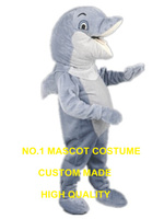 new dolphine mascot costume adult size hot sale cartoon sea animal delphis dolphine mascotte costumes carnival fancy dress 2977