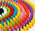 360 шт./лот Domino Головоломки Красочные Головоломки Раннего Детства Обучающие Игрушки Обучения в Раннем Возрасте Игрушка