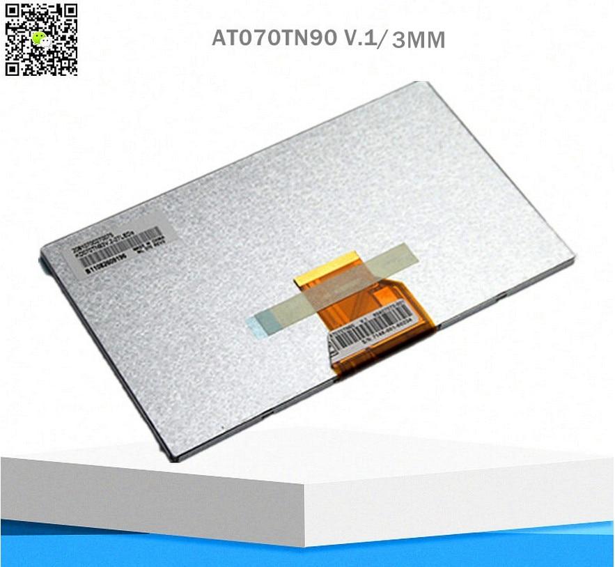 Original 7inch 50pin needle pin AT070TN90 V 1 V X lcd screen display screen 164X100X3mm Free