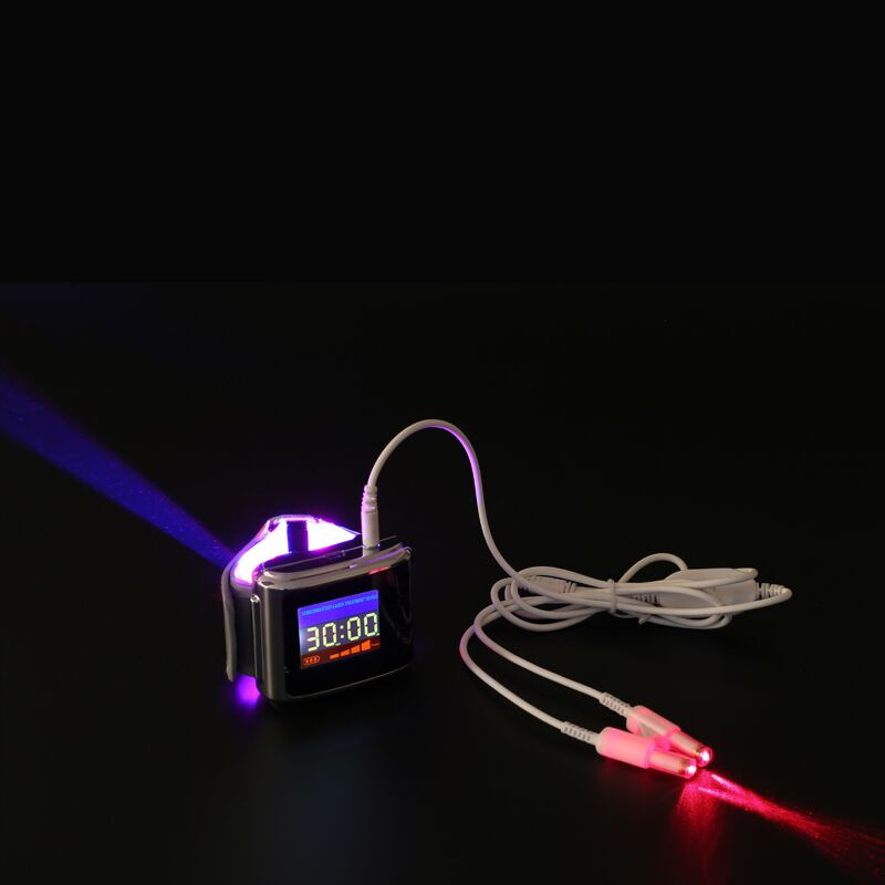 red laser light therapy with BLUE LED light therapy Module diode led watch treat thigh blood sugar&blood viscosity weber hot acupuncture laser light device lowering blood viscosity naturally