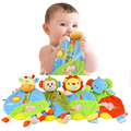 Baby Infant Soft Appease Towel Animal Early Educational Plush Baby Toys Teether For Newborn Baby  Blanket - BYC127 PTP