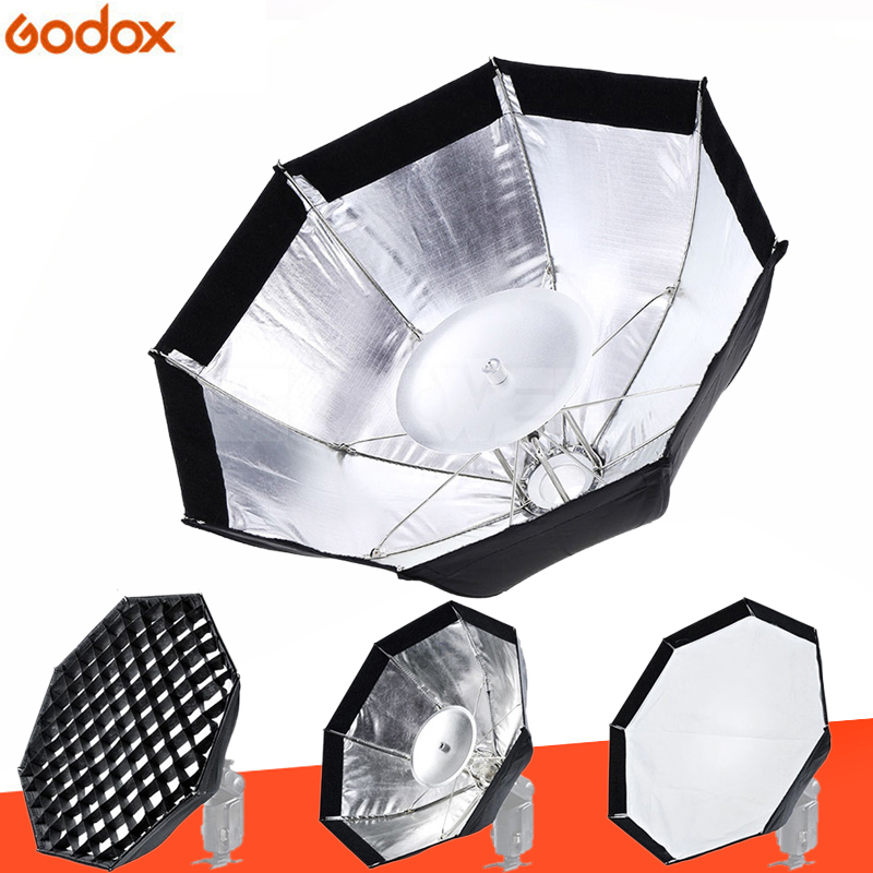 Godox AD-S7 Multifunctional Soft Box Octagonal Honeycomb Grid Umbrella Softbox for WITSTRO Flash Speedlite AD180/AD360Godox AD-S7 Multifunctional Soft Box Octagonal Honeycomb Grid Umbrella Softbox for WITSTRO Flash Speedlite AD180/AD360
